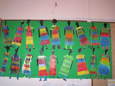 En route vers l 39 afrique cole primaire de kergro s for Peinture crocodile
